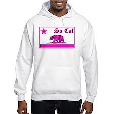 so cal bear pink Hoodie