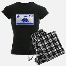 so cal bear blue Pajamas
