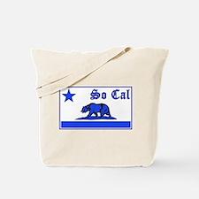 so cal bear blue Tote Bag