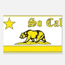 so cal bear yellow Postcards (Package of 8)