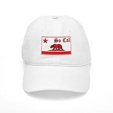 so cal bear red Baseball Baseball Cap
