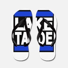 lake tahoe blue Flip Flops
