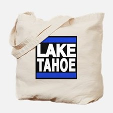 lake tahoe blue Tote Bag
