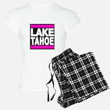 lake tahoe pink Pajamas