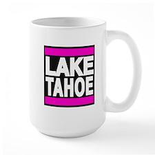 lake tahoe pink Mug