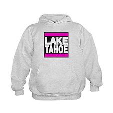 lake tahoe pink Hoodie