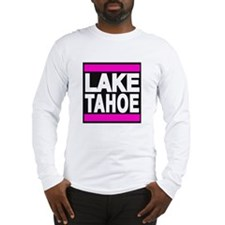 lake tahoe pink Long Sleeve T-Shirt
