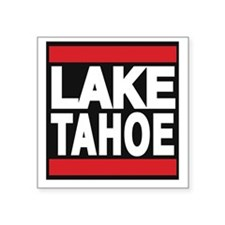lake tahoe red Sticker