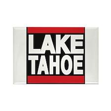 lake tahoe red Rectangle Magnet
