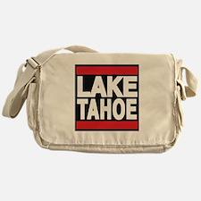lake tahoe red Messenger Bag