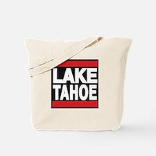 lake tahoe red Tote Bag