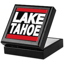 lake tahoe red Keepsake Box