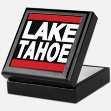 lake tahoe red Keepsake Box