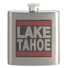 lake tahoe red Flask
