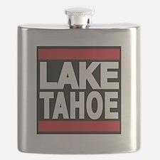 lake tahoe red Flask