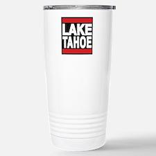 lake tahoe red Travel Mug