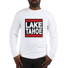 lake tahoe red Long Sleeve T-Shirt