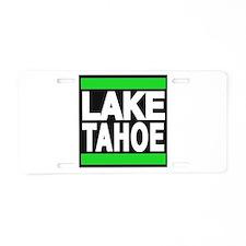 lake tahoe green Aluminum License Plate