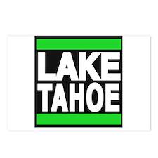 lake tahoe green Postcards (Package of 8)