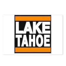lake tahoe orange Postcards (Package of 8)
