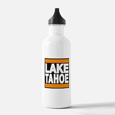 lake tahoe orange Water Bottle