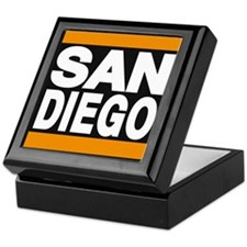 sandiego orange Keepsake Box