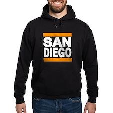 sandiego orange Hoodie