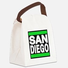 sandiego green Canvas Lunch Bag