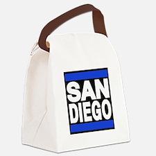 sandiego blue Canvas Lunch Bag