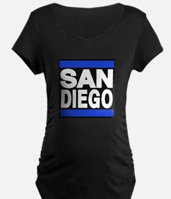 sandiego blue Maternity T-Shirt