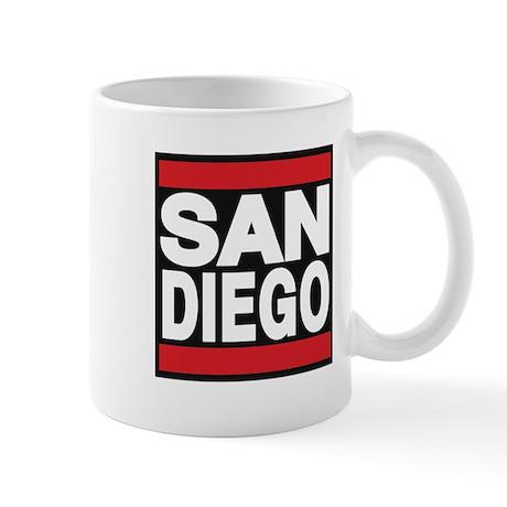 sandiego red Mug