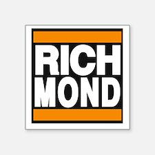 richmond orange Sticker