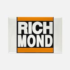 richmond orange Rectangle Magnet