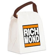richmond orange Canvas Lunch Bag