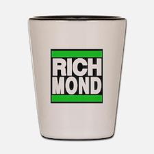 richmond green Shot Glass
