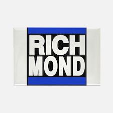 richmond blue Rectangle Magnet