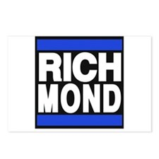 richmond blue Postcards (Package of 8)