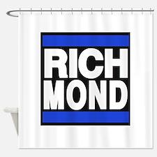 richmond blue Shower Curtain