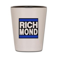 richmond blue Shot Glass