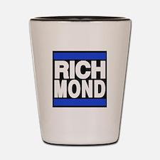 richmond blue Shot Glass