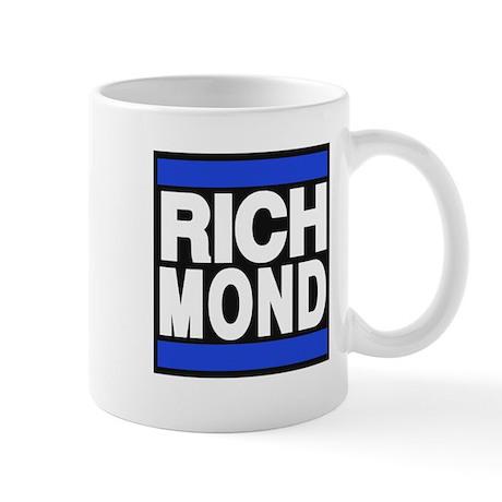 richmond blue Mug