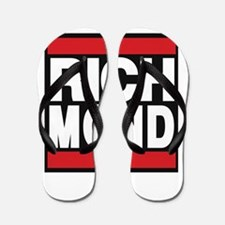 richmond red Flip Flops