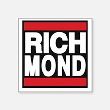 richmond red Sticker