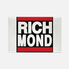 richmond red Rectangle Magnet