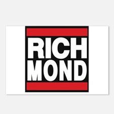 richmond red Postcards (Package of 8)