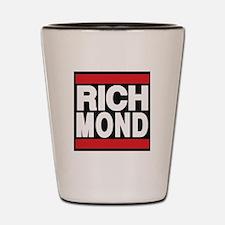 richmond red Shot Glass