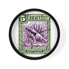 1936 Ecuador Galapagos Iguana Postage Stamp Wall C