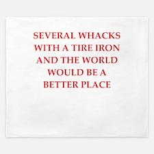 tire iron King Duvet