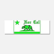 nor cal bear green Car Magnet 10 x 3