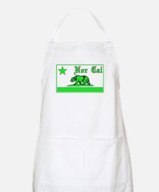 nor cal bear green Apron